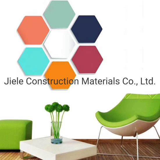 Decoration Materials Hard Edge Sound Absorption Acoustic Fabric Fieberglass Wall Panel/Board