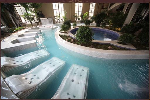 China Spa Equipment Hydraulic Massage Spa Swimming Pool