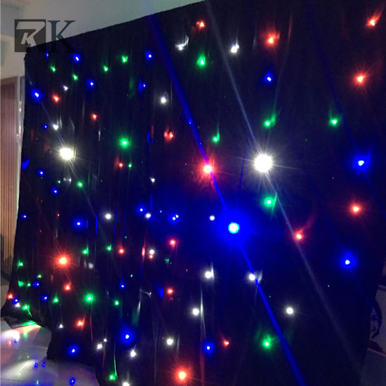 China led star curtain with led lights for wedding decoration led star curtain with led lights for wedding decoration junglespirit Choice Image