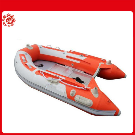Customized 380cm Extra-Wide Inflatable Sport Boats with Aluminum Floor