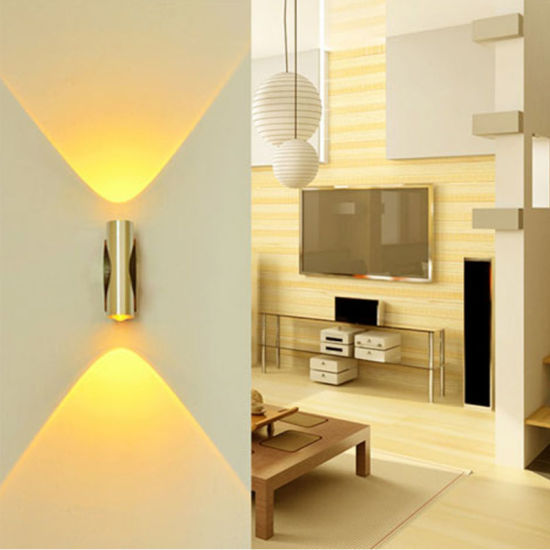 Modern Up Down Wall Lamp Led Indoor Hotel Decoration Light Living Room Bedroom Bedside Tv Background Picture Sconce Lamps China Modern Led Wall Light Corridor Lamp Made In China Com