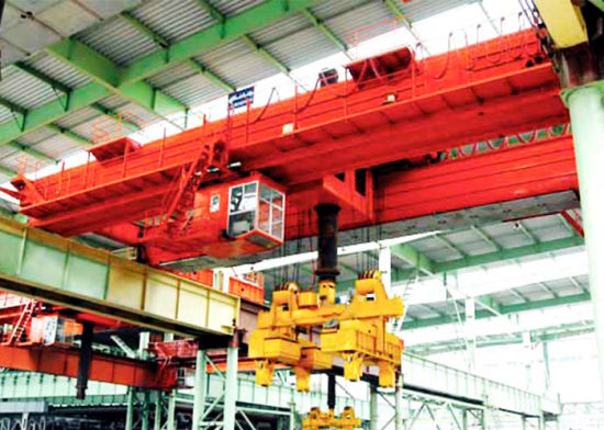 China Winch Trolly Type Double Girder Overhead Crane-Heavy Duty