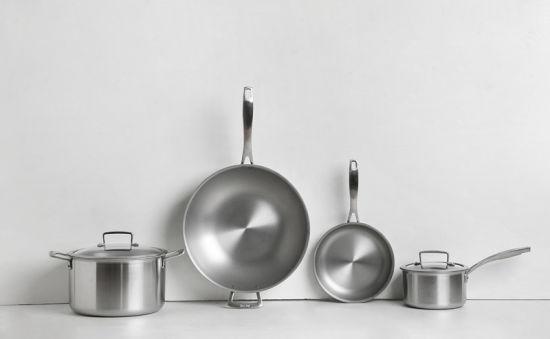 Wholesale Stainless Steel Nonstick Titanium Cooking Pot Cookware Set