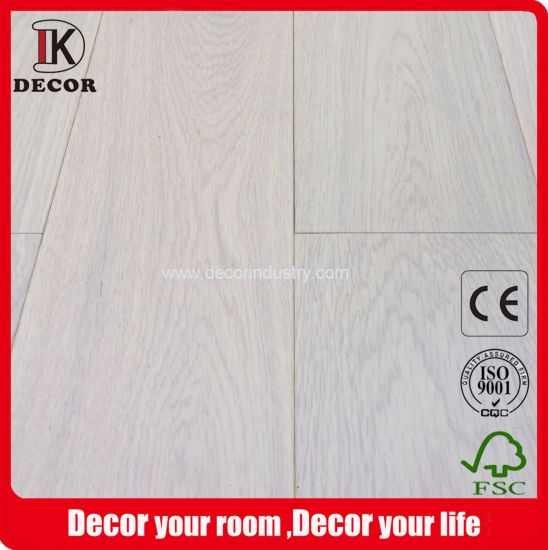 Best Price French Oak Smooth Wood Flooring for Sale pictures & photos