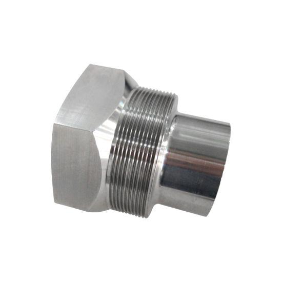 Densen Customized Aluminum Coupling Cylinder Slot Bolt for Fishing Equipment