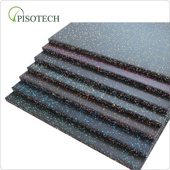 1mx 1mx 20mm Rubber Gym Flooring Crossfit Rubber Flooring