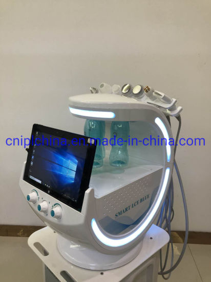 7 in 1 Skin Analyzer and Dermabrasion Oxygen Jet for Skin Care Face Lifting Deep Cleaning