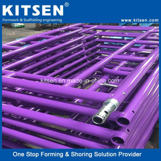 Standard Building Material Construction Scaffold Narrow Frames