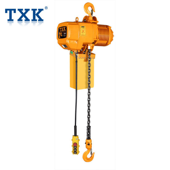 2t Electric Chain Hoist with Germany Schenider Contactor pictures & photos