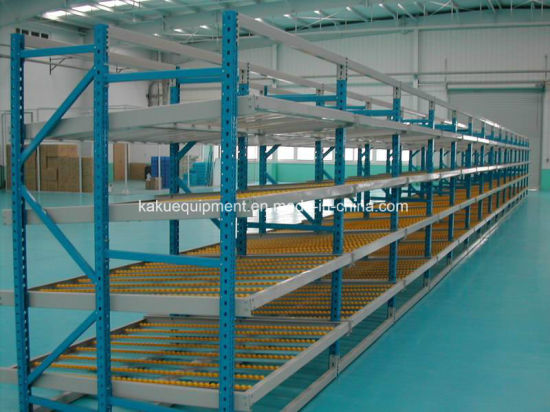 Warehouse Steel Flow Racking for Carton Storage pictures & photos