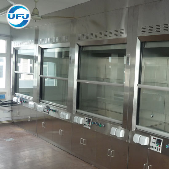 Manufacturer Design Laboratory Steel Reagent Cabinet with High Quality pictures & photos