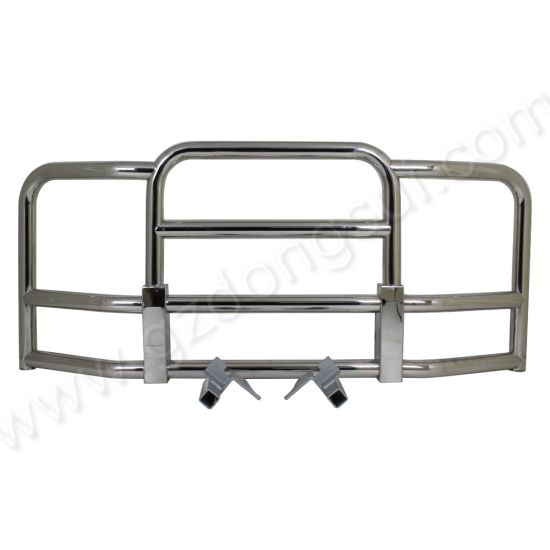 Freightliner Cascadia 304 Stainless Steel Front Bumper Grille Guard