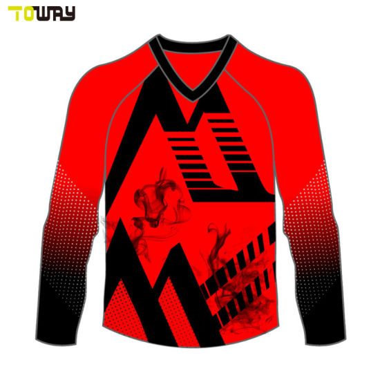China Design Your Own Wholesale Plain Blank Motocross Jerseys ... ac113a4be