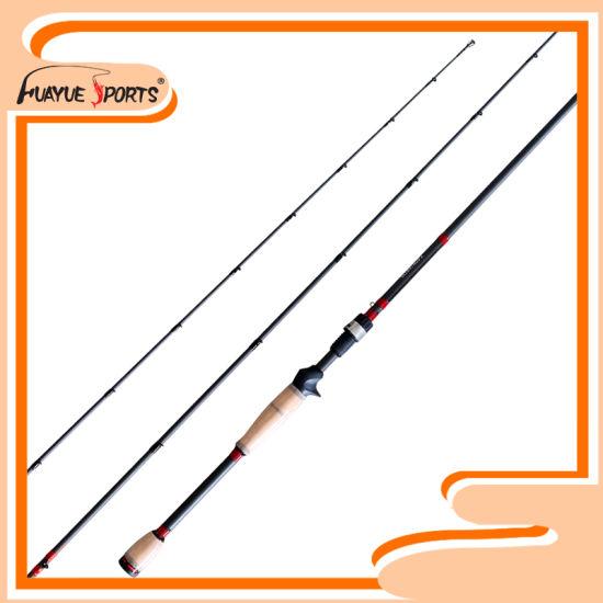 6'11''-7'3'' Medium FUJI Guides Bass Fishing Rod