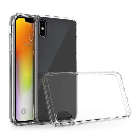 2 in 1 Hybrid Cell Phone Case for iPhone Xs Max