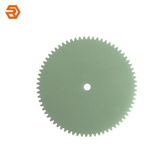 Fr4/G10 Gear Wheel Fiberglass CNC Machining Insulation Parts