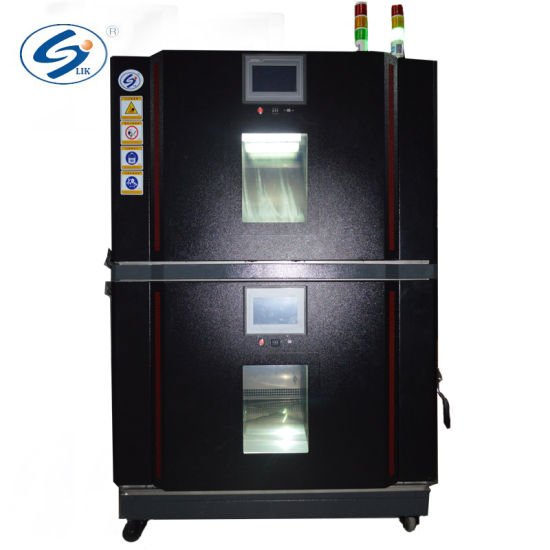 Double Layer Temperature Humidity Programmable Saving Space Test Chamber