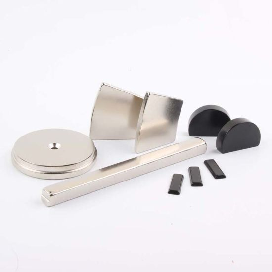 Large Custom Neo Disc Magnetic Blocks Ring Super Strong Motor Sensor Permanent N52 Neodymium Magnet