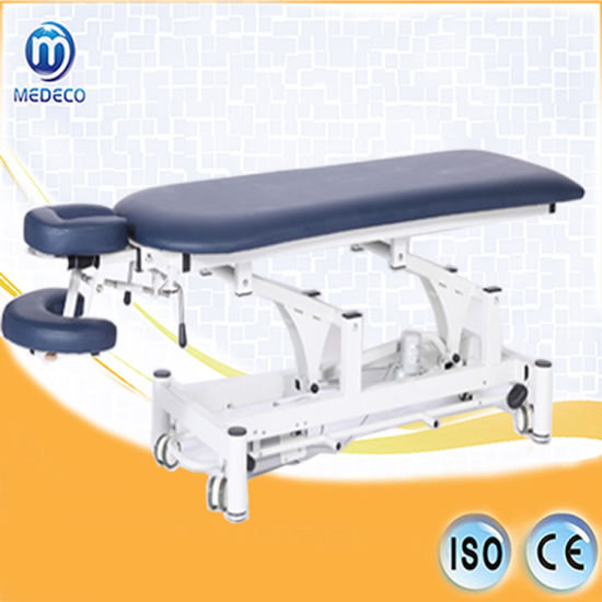 Hospital Massage Bed Treatment Table Contoured Electric Treatment Table Me11robin pictures & photos