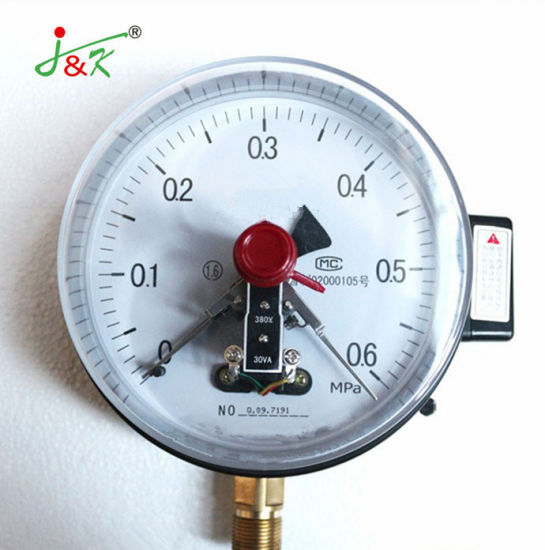 Hot Products Reed Switch Electric Contact Pressure Gauge with Good Quality