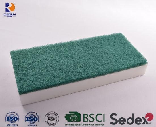 Magic Eraser Sponge Floor Pad, Melamine Foam Sponge, Scrubber Eraser Sponge, Microfiber Magic Eraser