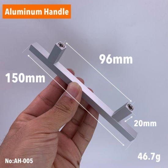Drawer Matt Aluminium Door Pulls Handles for Kitchen Cabinets