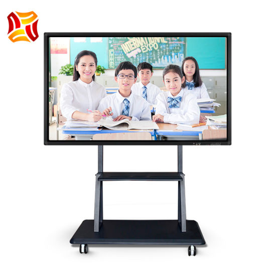 """55""""~100"""" Inch All in One PC Touch Screen LCD Panel LCD Display Infrared Smart Whiteboard Interactive Whiteboard with Kiosk for Teaching and Conference"""