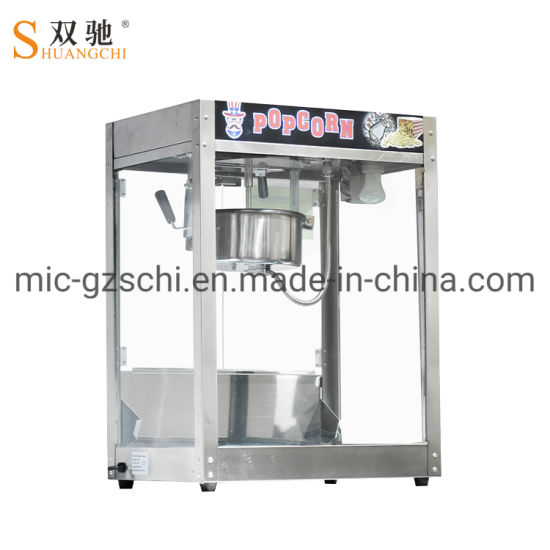Stainless Steel Electric Popcorn Machine Popcorn Maker Commercial Using pictures & photos