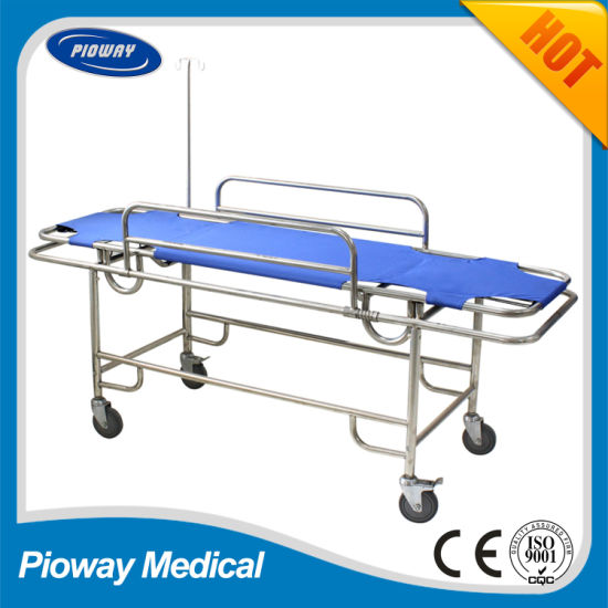 Stainless Steel Emergency Transport Stretcher, for Transporting Patient (RC-B3)
