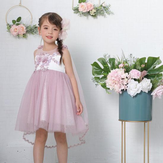 Children Clothing Glamorous Scoop Neck A-Line/Princess Tulle Flower Girl Dress