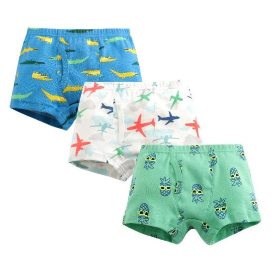 Kids Underwear 100% Cotton Soft Panties Teen Shorts