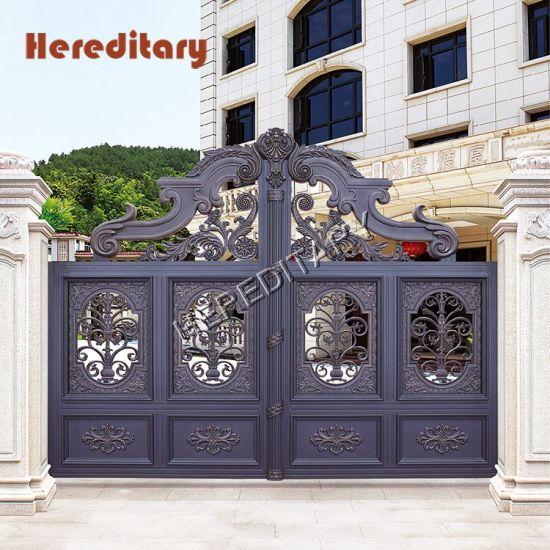 Easily Assembled Indian House Aluminum Main Gate Design