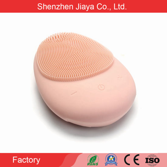 Face Brush Rechargeable Face and Body Wireless Silicone Facial Deep Cleansing Brush