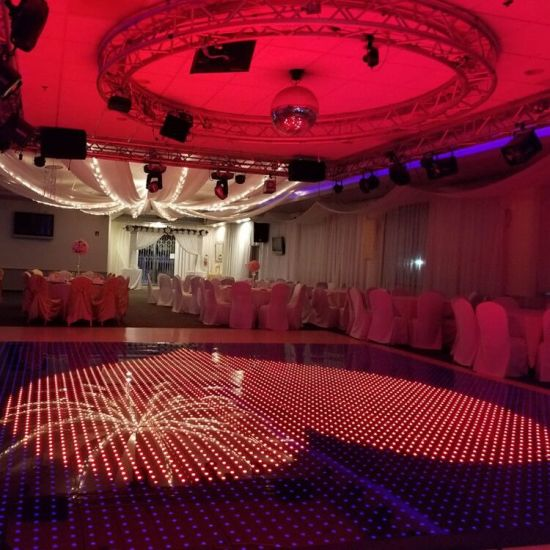 Disco/Club/DJ/Events Design RGB Full Color LED Portable Wedding Digital Dance Floor