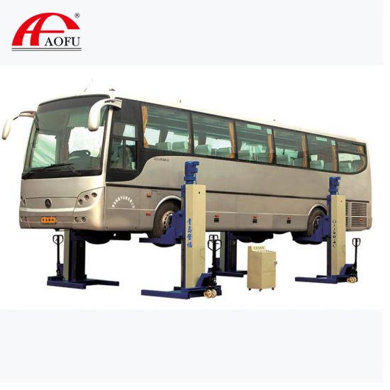 Aofu Mobile Column Garage Equipment Heavy Duty Truck Hydraulic Lift