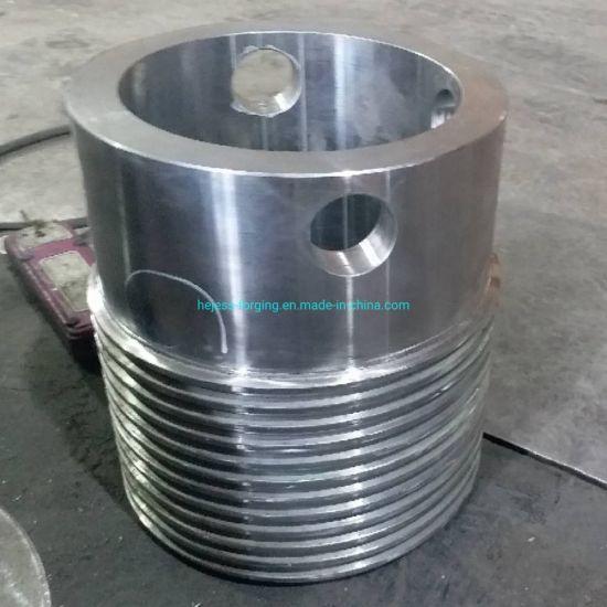 Aluminium Forging for Industrial Pump/Hydraulic Cylinder