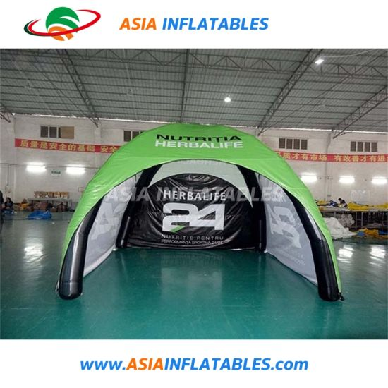 Outdoor Cheap PVC Fabric Inflatable Camping Tent