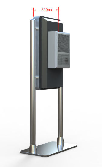 Touch Ad Player 43 Inch Rotation Ad Player Touch Screen Kiosk Outdoor Advertising LCD Digital Signage with RoHS