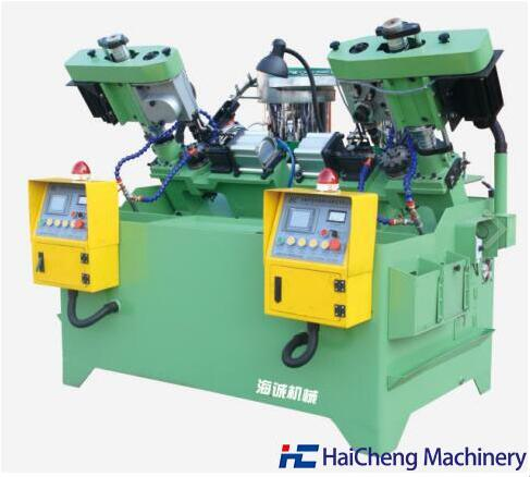 Double Spindle Flange & Hex Nut Tapping Machine for Lateral Drilling