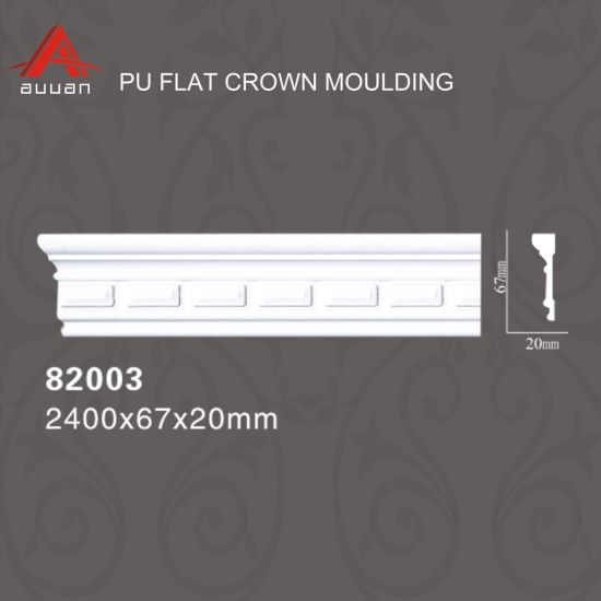 82002 Polyurethane Best Price Home Decor Wall ceiling Cornice Moulding
