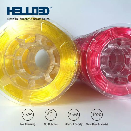 China Best Flexible 3D Printer Filament From TPU Material