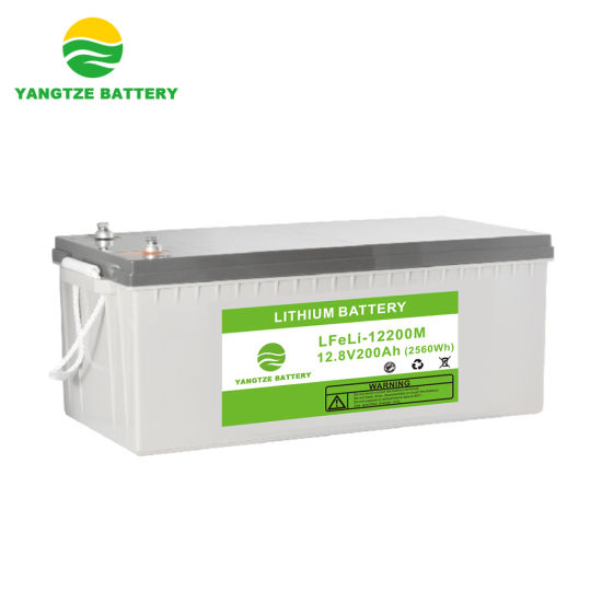 5 Years Warranty 12V 200ah LiFePO4 Lithium Ion Phosphate Rechargeable Battery