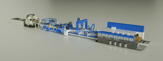 1200*2400 3ply 5ply Cardboard Carton Box Production Line - Ce BV SGS