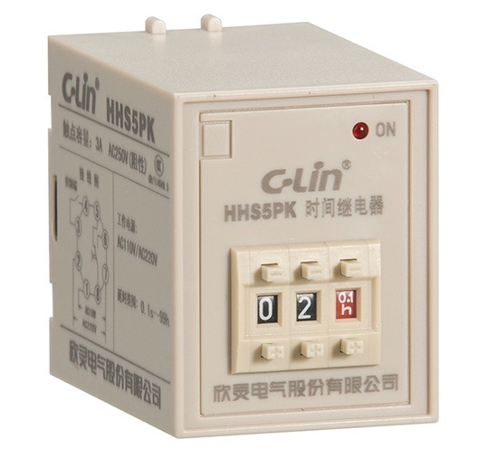 Electronical Time Relay (HHS5PY(ST3PY), HHS5PF(ST3PF))