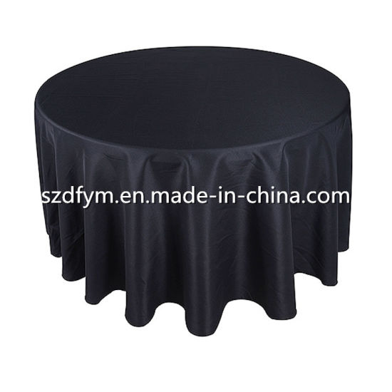 Wedding Party Tablecloth Table Cover Polyester Table Cloth pictures & photos