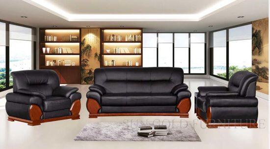 China Beautiful Simple Leather 1+1+3 Genenie Italian Leather ...
