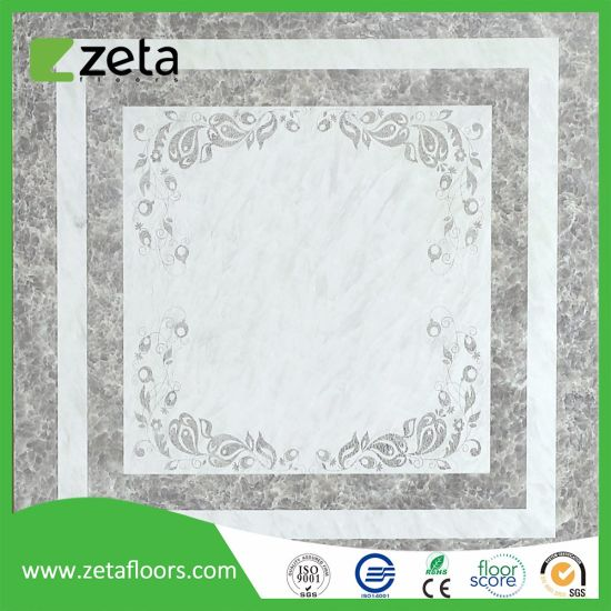 Waxed Top Quality HDF Unilin Click Laminated Flooring Tiles