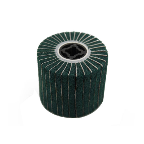 Nonwoven Wire Drawing Wheel Polishing Wheel Brush pictures & photos