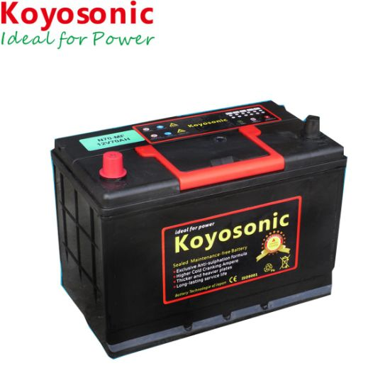 Factory Price 12v 70ah Maintenance Free Electric Car Battery Auto Pictures Photos