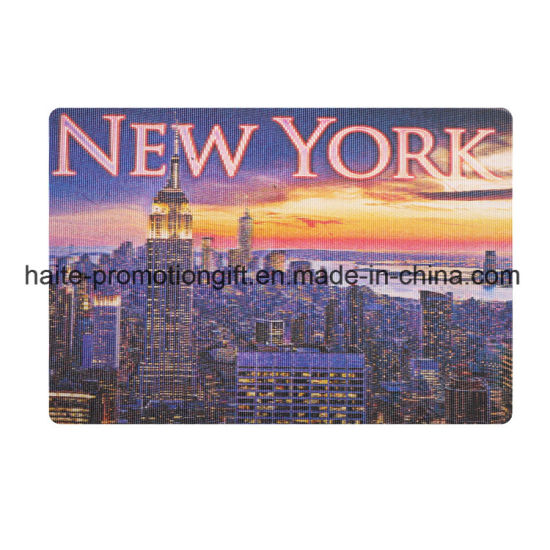 Hot Sell 3D Lenticular Greeting Cards Glitter Printing Postcard